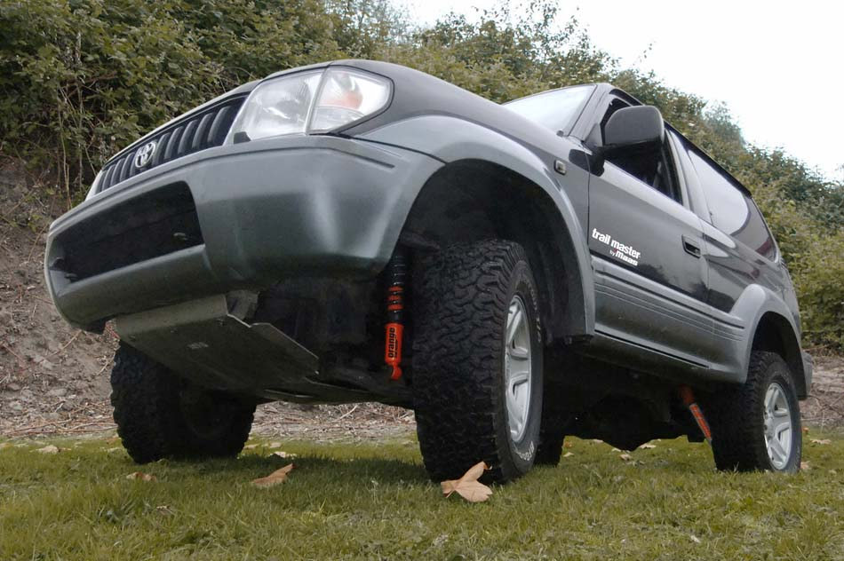 maas group - Newsletter: New suspension system for Toyota Landcruiser J9